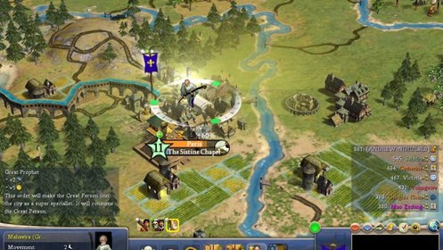 Скриншот Sid Meier's Civilization IV №1