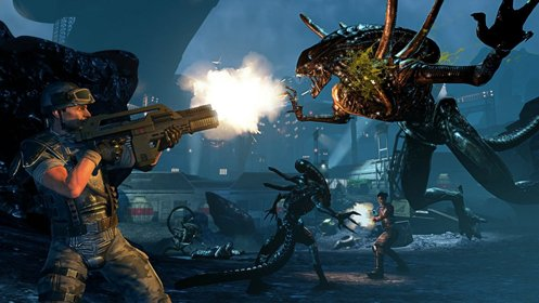 Скриншот Aliens: Colonial Marines №2