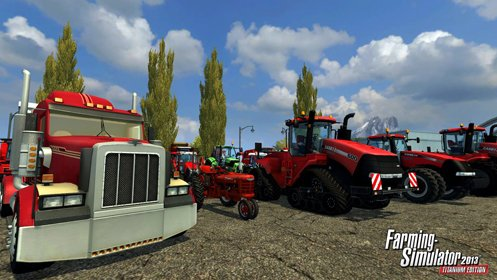 Скриншот Farming Simulator 2013 Titanium Edition №3