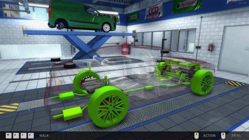 Скриншот Car Mechanic Simulator 2014 Complete edition №1