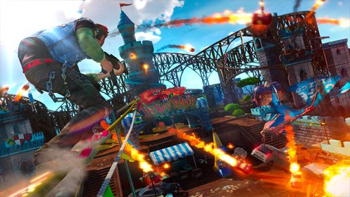 Скриншот Sunset Overdrive №2