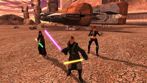 Скриншот Star Wars: Knights of the Old Republic 2 №1