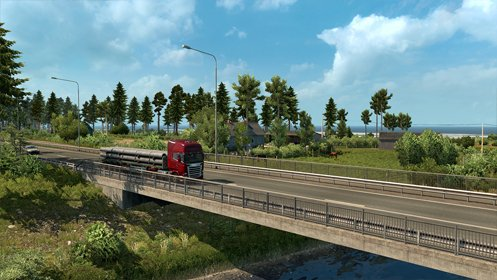 Скриншот Euro Truck Simulator 2 - Beyond the Baltic Sea №2