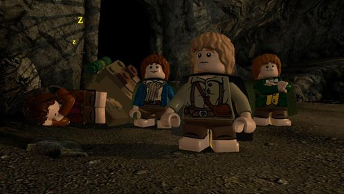 Скриншот LEGO The Lord of the Rings №2