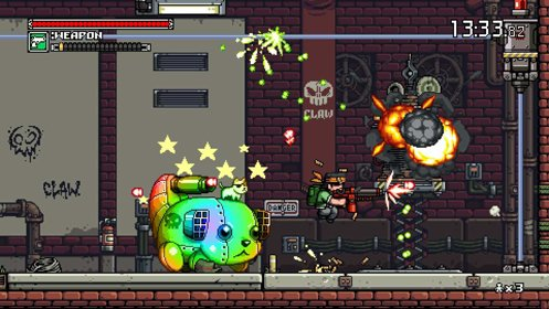 Скриншот Mercenary Kings: Reloaded Edition №1