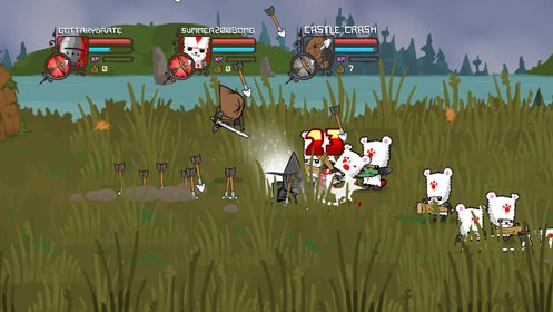 Скриншот Castle Crashers №1