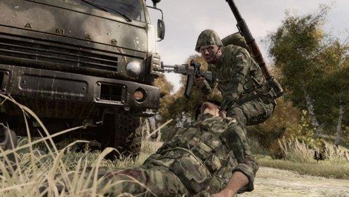 Скриншот Arma 2: Operation Arrowhead №2