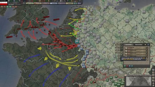 Скриншот Hearts of Iron 3 №2
