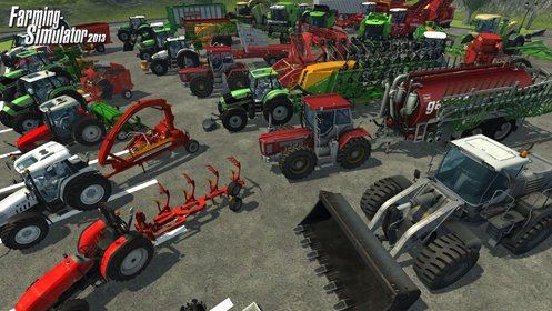 Скриншот Farming Simulator 2013 DLCs Pack №1