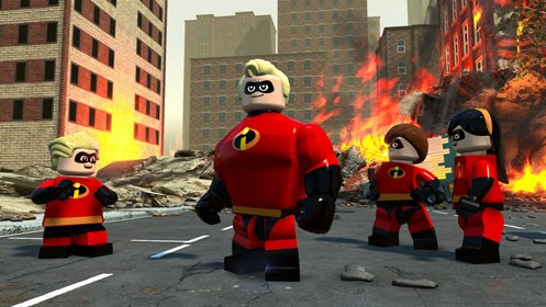 Скриншот LEGO The Incredibles №1