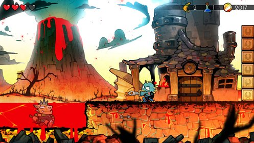 Скриншот Wonder Boy: The Dragon's Trap №2