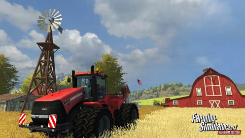 Скриншот Farming Simulator 2013 Titanium Edition №1