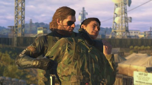 Скриншот Metal Gear Solid: Ground Zeroes №1