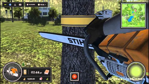 Скриншот Woodcutter Simulator 2013 Gold Edition №2