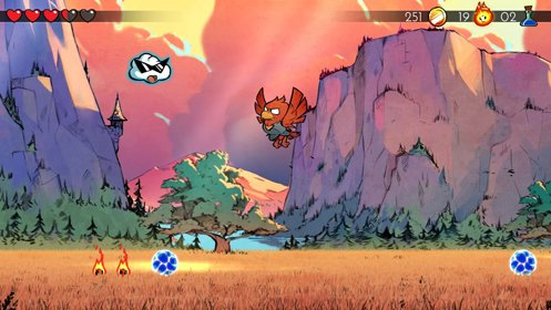 Скриншот Wonder Boy: The Dragon's Trap №1