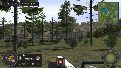 Скриншот Woodcutter Simulator 2013 Gold Edition №3