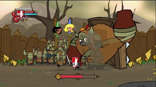 Скриншот Castle Crashers №2