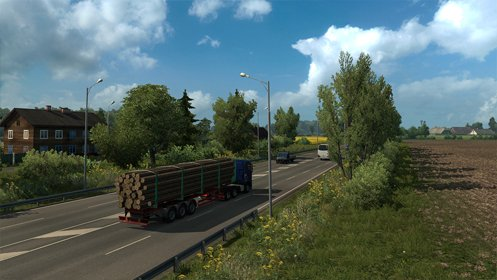Скриншот Euro Truck Simulator 2 - Beyond the Baltic Sea №3