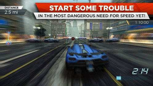 Скриншот Need for Speed: Most Wanted №2